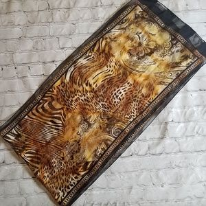 Cheetah Print Scarf